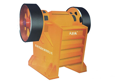 GFP High-efficient Frictionless Jaw Crusher